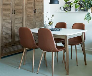 4e6bd2321742 Kuchynské stoličky - viac ako 10 bielych modelov na JYSK.sk