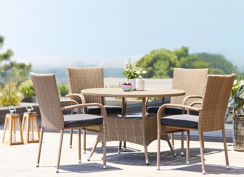 7d5ff3b6ab34 Najvhodnejší nábytok na záhradu  Materiály a údržba