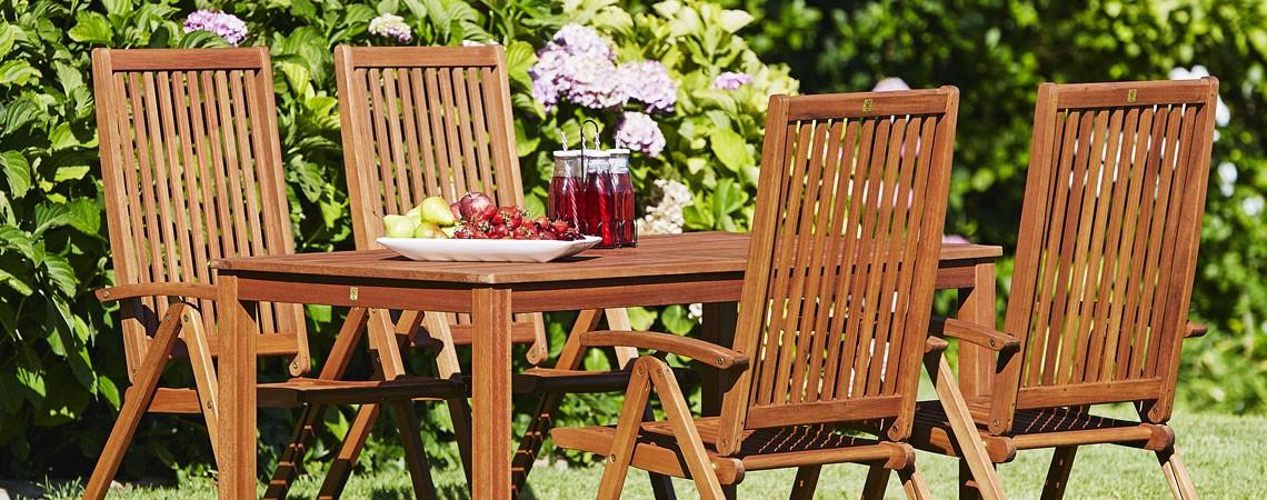 508a0ab73 Starostlivosť o drevený záhradný nábytok   JYSK